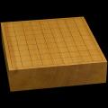本榧卓上将棋盤 2寸8分(一枚板・天柾) sb20477