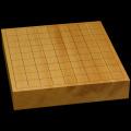 本榧卓上将棋盤 2寸1分(一枚板・天柾) sb20479