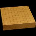 本榧卓上将棋盤 2寸1分(一枚板・天柾) sb20481