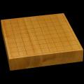 本榧卓上将棋盤 2寸1分(一枚板・天地柾) sb20482