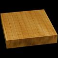 本榧卓上将棋盤 2寸1分(一枚板・天地柾) sb20485