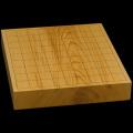 国産本榧卓上将棋盤 2寸(一枚板・木表) sb20490