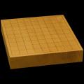 国産本榧卓上将棋盤 2寸1分(一枚板・天柾) sb20491