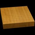 本榧卓上将棋盤 2寸(一枚板・天地柾) sb20494
