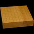 本榧卓上将棋盤 2寸3分(一枚板・木裏) sb20508
