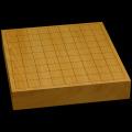 本榧卓上将棋盤 2寸(一枚板・木裏) sb20509