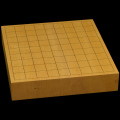 本榧卓上将棋盤 2寸2分(一枚板・天地柾) sb20515