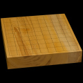 【訳あり】国産本榧卓上将棋盤 2寸(一枚板・木裏) sb20517