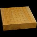 国産本榧卓上将棋盤 2寸2分(一枚板・木表) sb20518