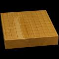 国産本榧卓上将棋盤 2寸1分(一枚板・木裏) sb20519