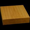 本榧卓上将棋盤 2寸5分(一枚板・木裏) sb20540