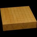 本榧卓上将棋盤 2寸4分(一枚板・天柾) sb20550