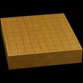 本榧卓上将棋盤 2寸4分(一枚板・木裏) sb20564