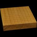 本榧卓上将棋盤 2寸1分(一枚板・天柾) sb20574