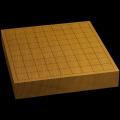 本榧卓上将棋盤 2寸(一枚板・天地柾) sb20582