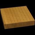 本榧卓上将棋盤 2寸1分(一枚板・天地柾) sb20585