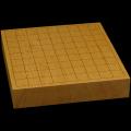本榧卓上将棋盤 2寸1分(一枚板・木裏) sb20587