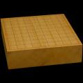 本榧卓上将棋盤 3寸(一枚板・天柾) sb30034