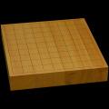 国産本榧卓上将棋盤 1寸9分(ハギ盤) st10041