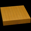 本榧卓上将棋盤 2寸1分(ハギ盤) st20032