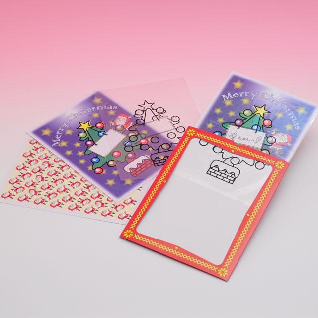 C2945 サンタからのクリスマスカード