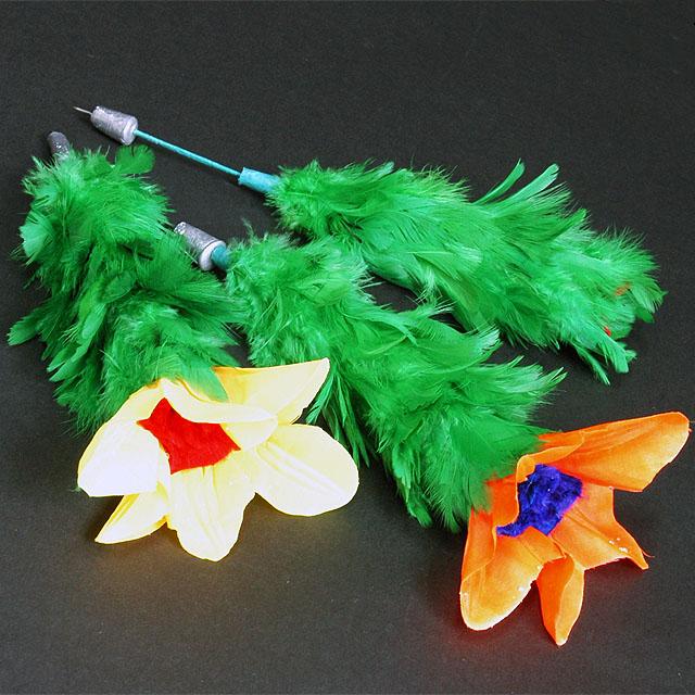 F5131 花咲く 投げ花(トリプル)