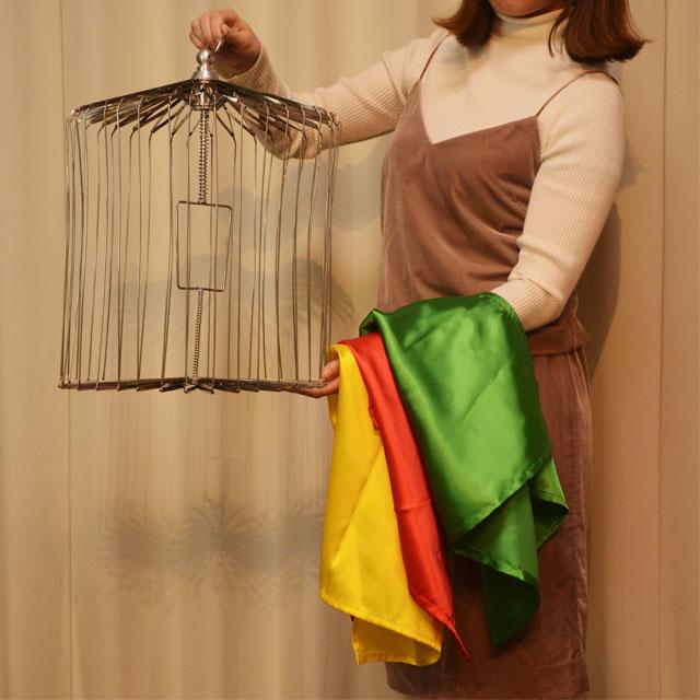 H5236 スカーフから出現する鳥籠