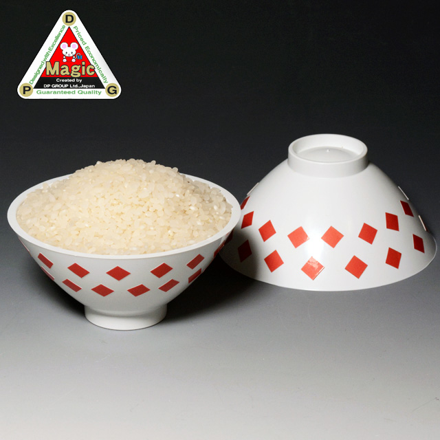 I7244 DPG ライスボウル(茶碗と米)