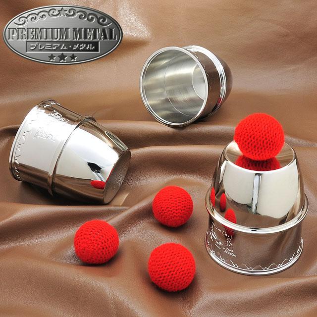 M8712 PM カップ&ボール(銀)