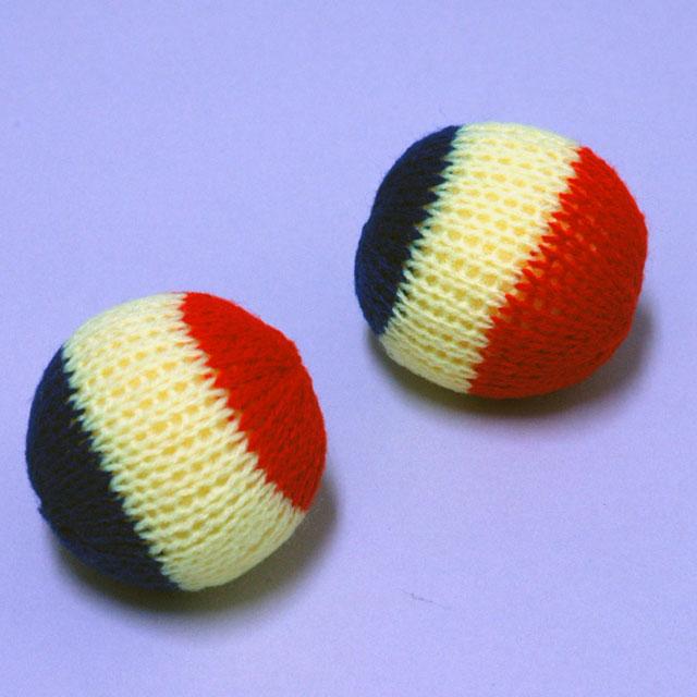 N3250 ニットスポンジボール 50mm(2個入り)