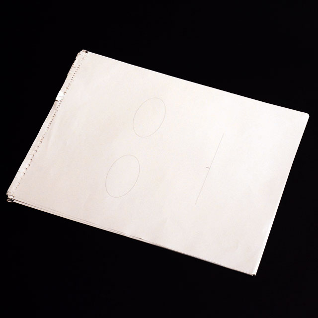 P5951A しゃべるスケッチブック スペア用紙10枚セット