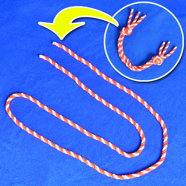 R7112 紅白絆ロープ