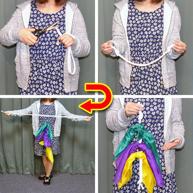 R7213 ロープの復活と抜けるシルク(特上品)