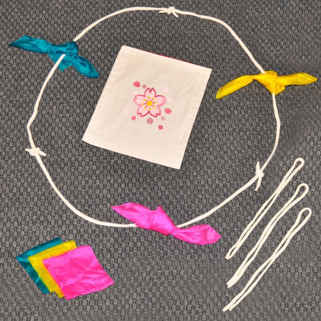R7226 特上 手を繋ぐロープとシルク(DPG チェンジバッグ「桜」付)