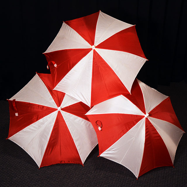 T2315 プロダクション パラソル(紅白/3本セット)