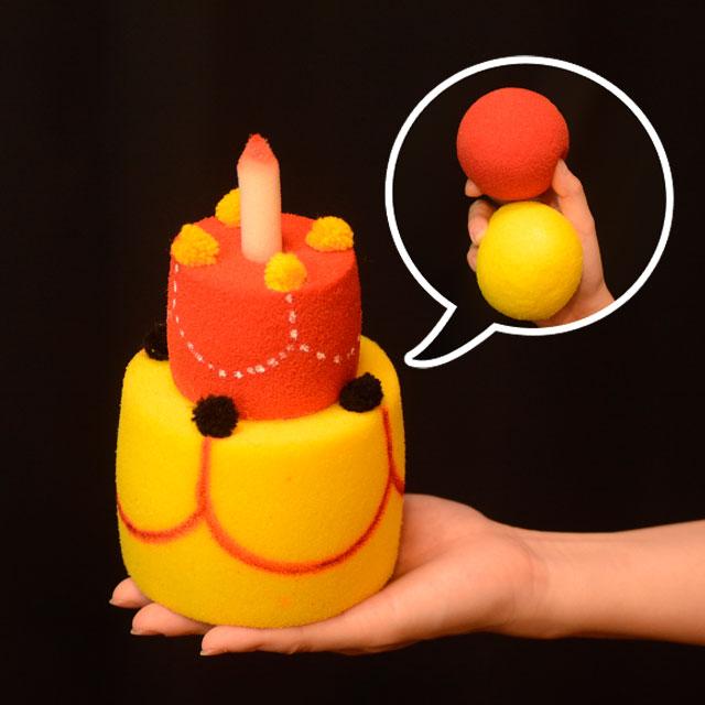 U6447 ケーキになるスポンジボール