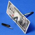 M2201 ボールペンと紙幣