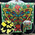 S8529 ブレンドシルク「蝶」胡蝶の舞付(特上品 LLサイズ)