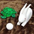 U6406 ウサギとカメのスポンジセット