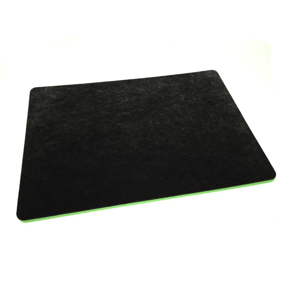 形状記憶クロースアップマット 〔ハーフ・サイズ, ブラック〕