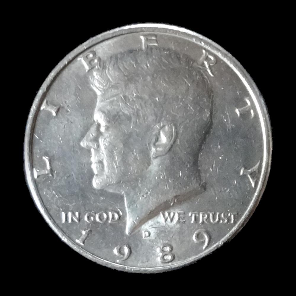 ハーフ・ダラー (Half Dollar) 〔ケネディー〕