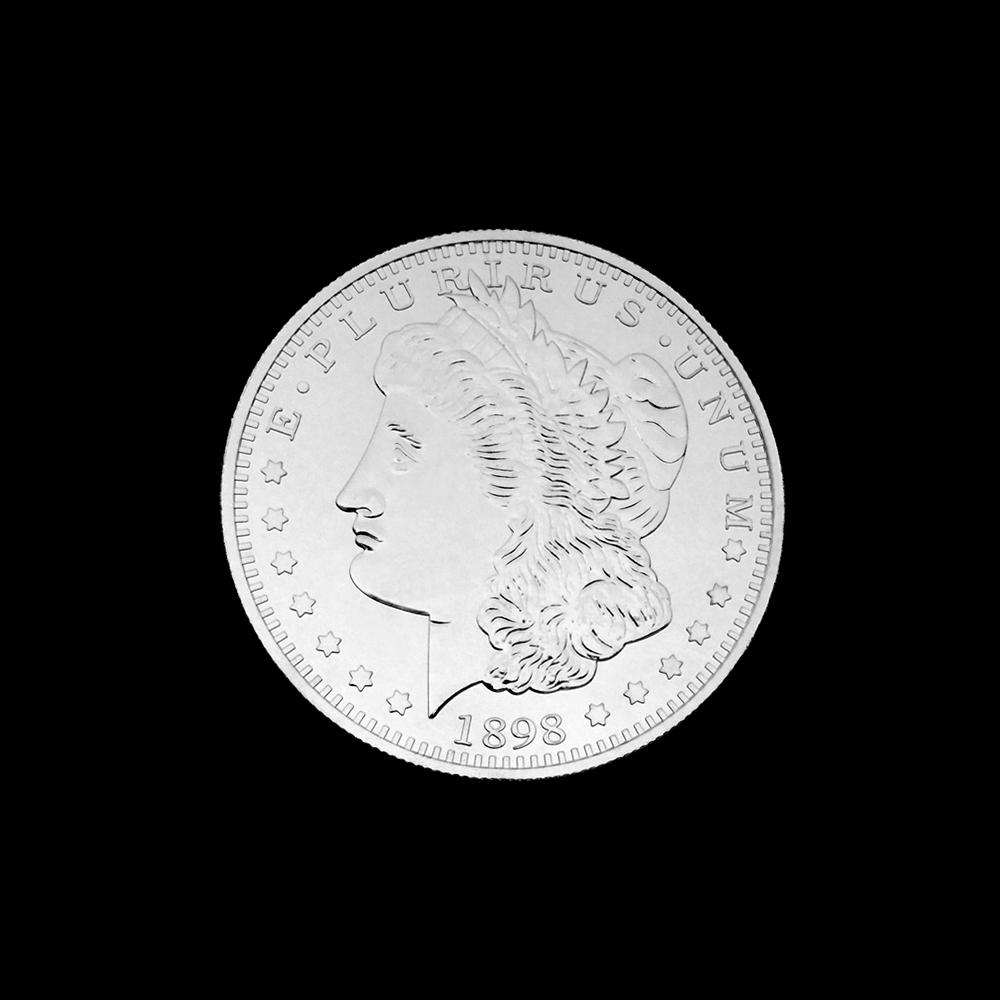 ジャンボ・クロム・ダラー (Jumbo Chrome Dollar) 〔モルガン, 3インチ〕