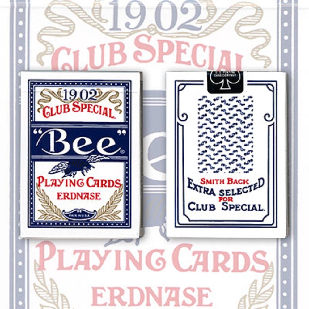 アードネス 1902 ビー・ブルー・スミス No.2 バック (Erdnase 1902 Bee Blue Smith No.2 Back)