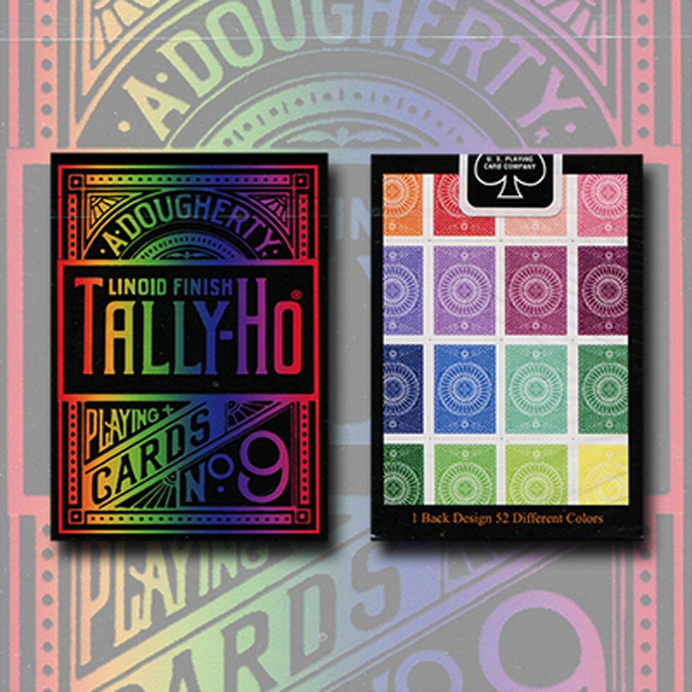 タリホー・スペクトラム・デック (Tally-Ho Spectrum Deck)〔サークル・バック〕