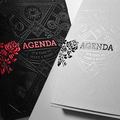 アジェンダ・デック・セット (Agenda Deck Set)〔ブラック, ホワイト〕