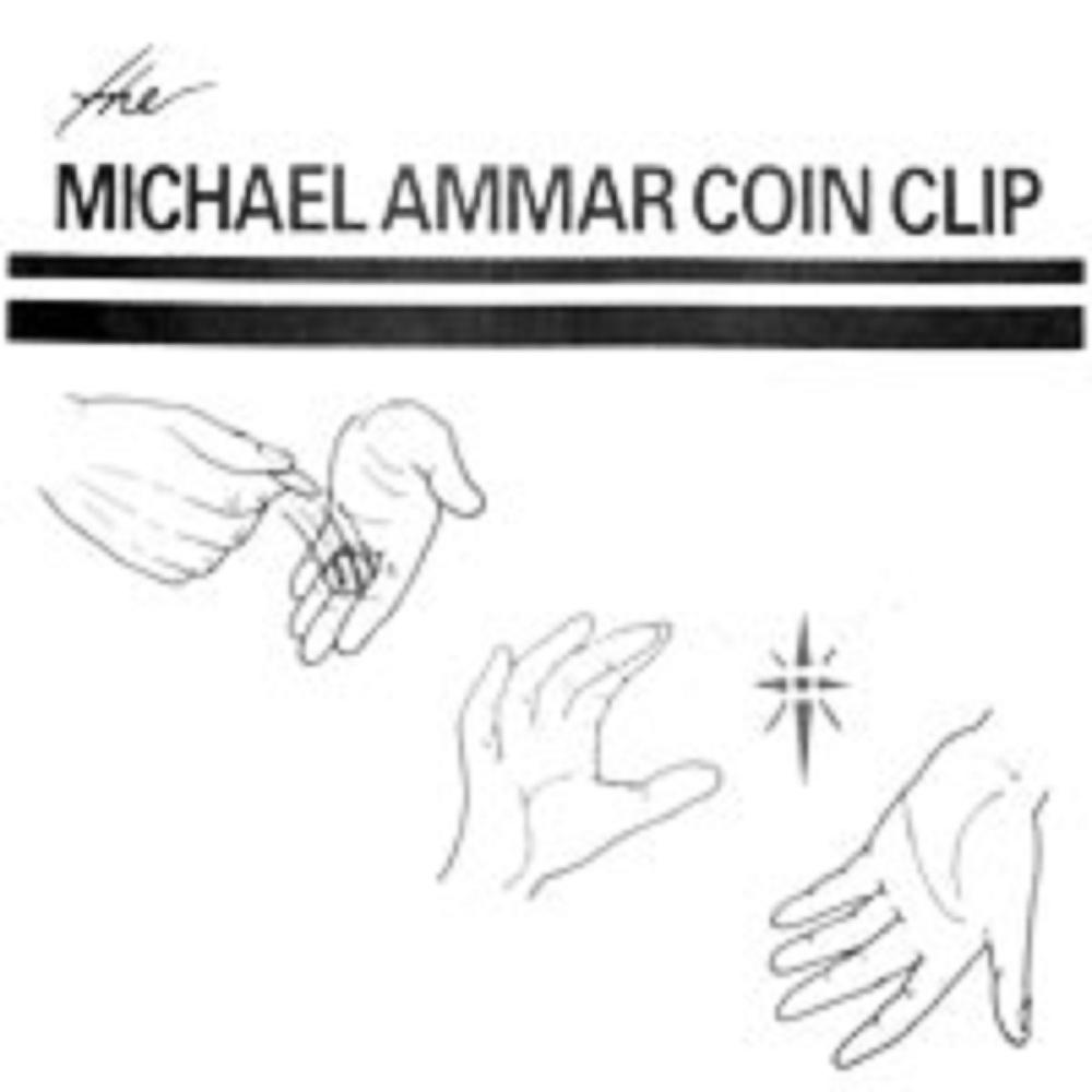 ザ・マイケル・アマー・コイン・クリップ (The Michael Ammar Coin Clip) 〔ハーフ・ダラー用〕
