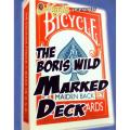 ザ・ボリス・ワイルド・マークト・デック (The Boris Wild Marked Deck)〔バイシクル・メイデン・バック〕