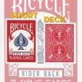 ショート・バイシクル・デック (Short Bicycle Deck)〔レッド〕