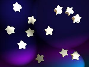 星型紙吹雪