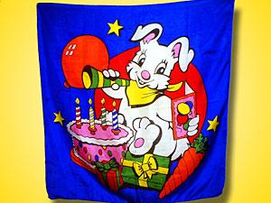 プリントシルク(楽しい誕生日)